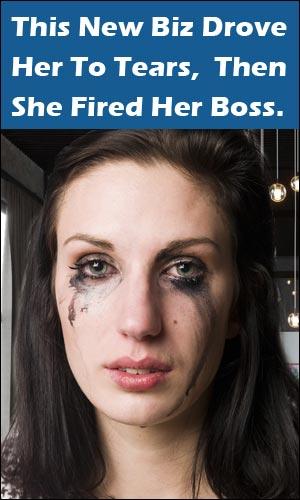 Woman Fires Bozz